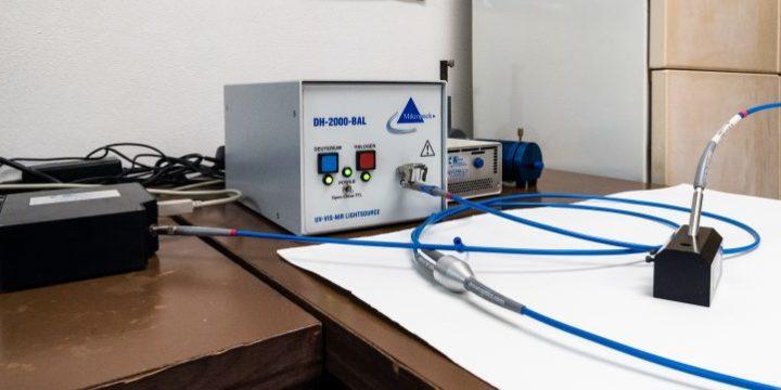 Optovláknový spektrofotometer UV-VIS-NIR, Ocean optics