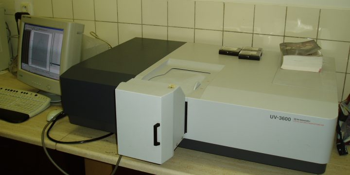 UV-Vis-NIR spektrofotometer UV3600