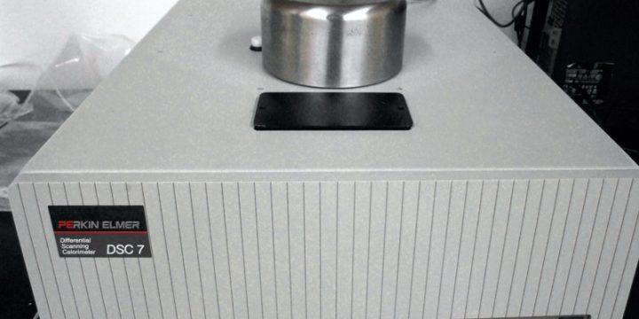 DSC kalorimeter Perkin Elmer DSC-7