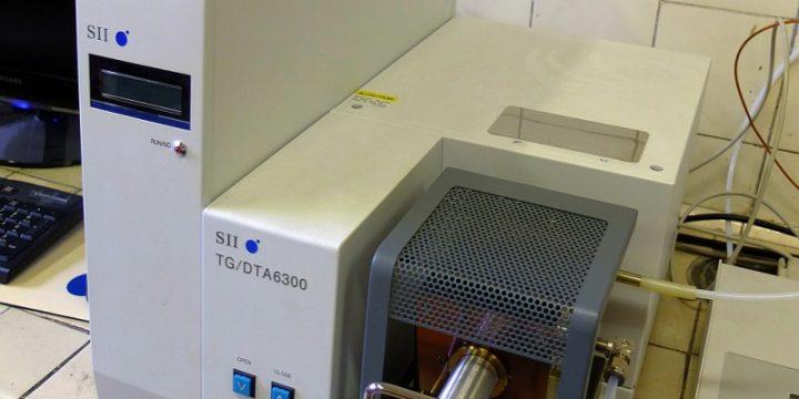 DTA/TG kalorimeter Exstar Seiko 6300