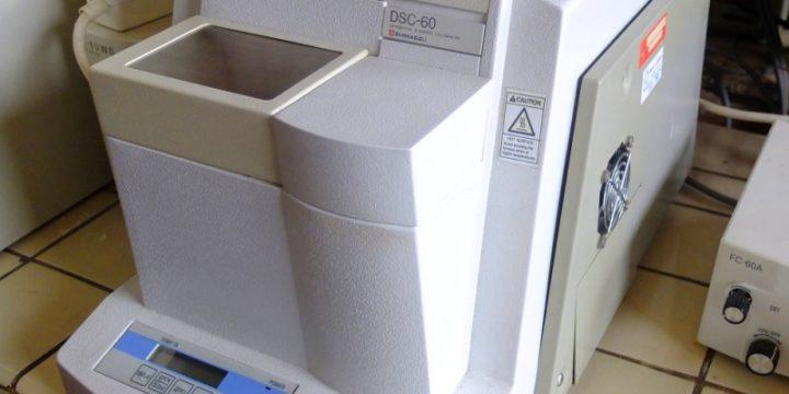 DSC kalorimeter Shimadzu DSC-60