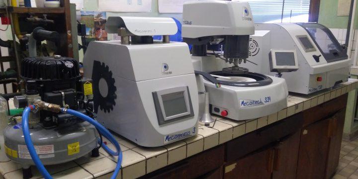 Prístroje pre metalografiu