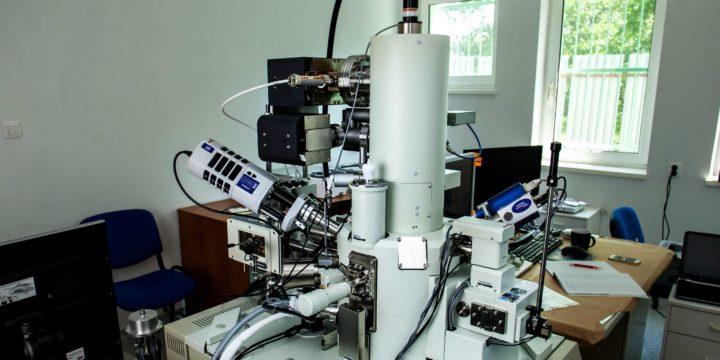 Elektrónový skenovací mikroskop JEOL 7500F
