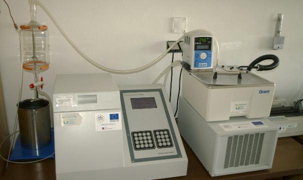 Kalorimetrická bomba FTT 1